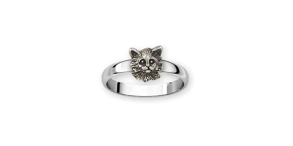Maine Coon Charms Maine Coon Ring Sterling Silver Cat Jewelry Maine Coon jewelry