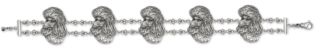 Poodle Bracelet Handmade Sterling Silver Dog Jewelry NC1-BR