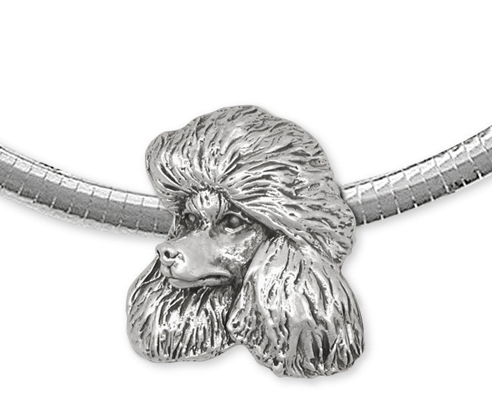 Poodle Pendant Handmade Sterling Silver Dog Jewelry NC2-NS