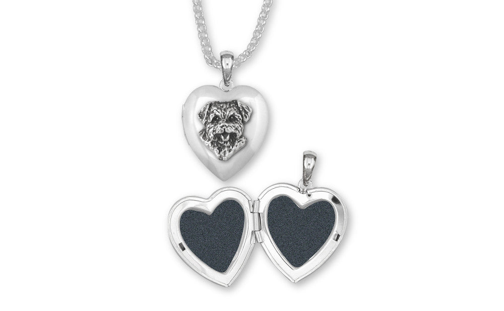 Norfolk Terrier Charms Norfolk Terrier Photo Locket Sterling Silver Dog Jewelry Norfolk Terrier jewelry