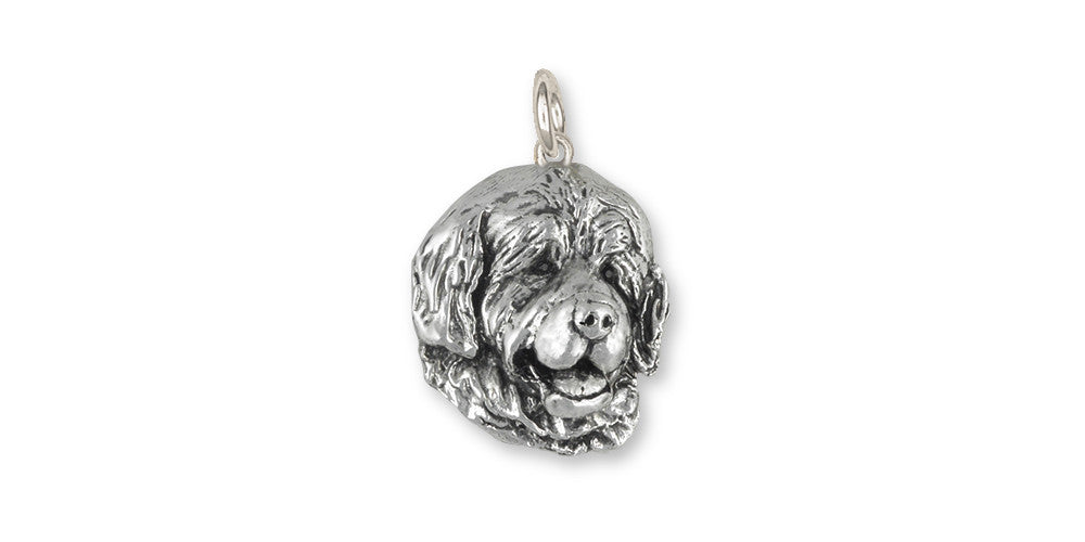 Newfoundland Charms Newfoundland Charm Sterling Silver Dog Jewelry Newfoundland jewelry