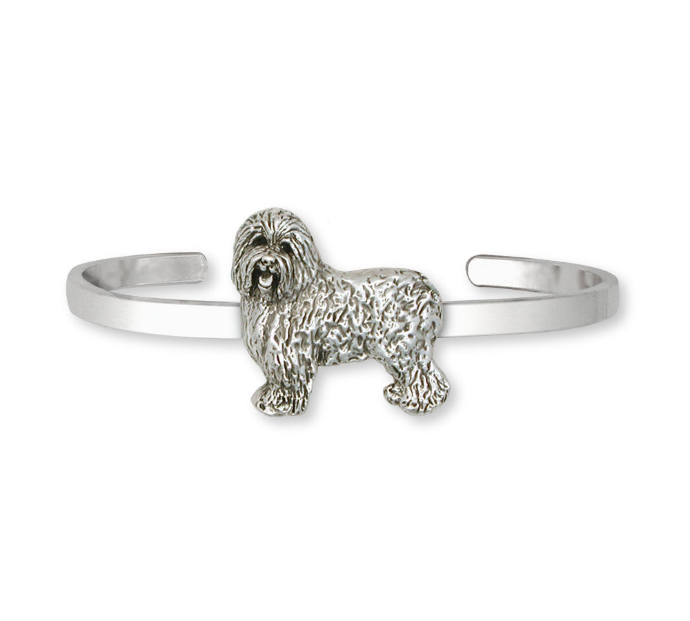 Old English Sheepdog Charms Old English Sheepdog Bracelet Sterling Silver Dog Jewelry Old English Sheepdog jewelry