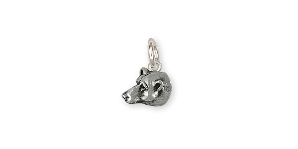 c02deea9f Polar Bear Charms Polar Bear Charm Sterling Silver Polar Bear Jewelry Polar  Bear jewelry