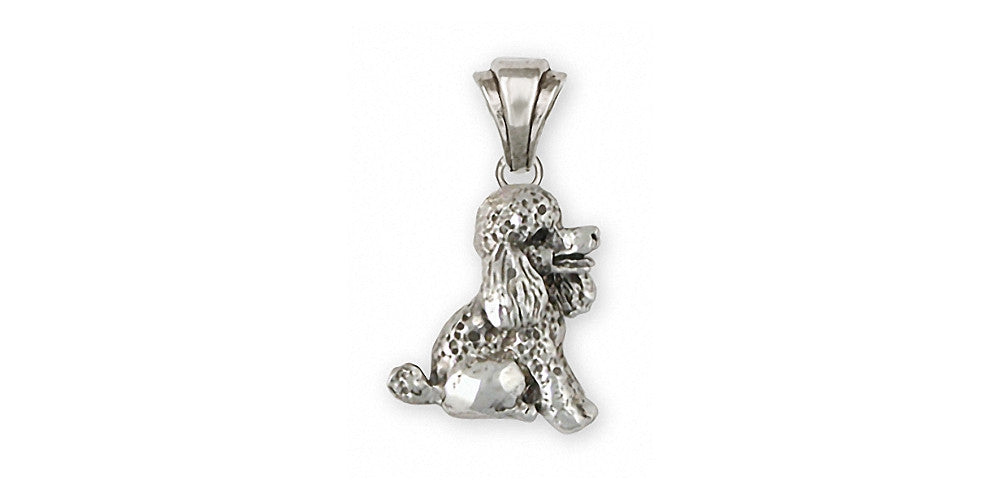 Poodle Charms Poodle Pendant Sterling Silver Dog Jewelry Poodle jewelry