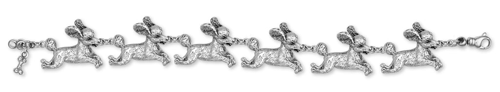 Poodle Bracelet Handmade Sterling Silver Dog Jewelry PD23-BR