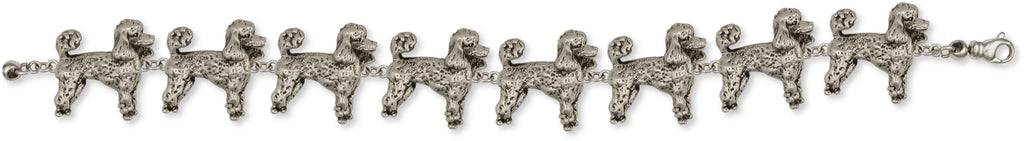 Poodle Bracelet Handmade Sterling Silver Dog Jewelry PD51-B