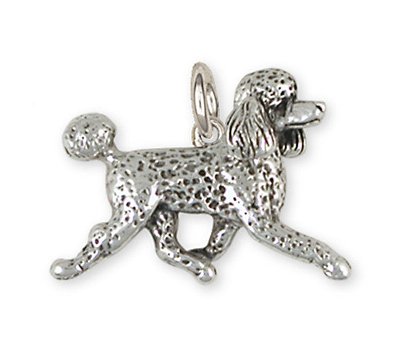 Poodle  Handmade Sterling Silver Dog Jewelry PD53-C
