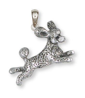 Poodle Pendant Handmade Sterling Silver Dog Jewelry PD60-P