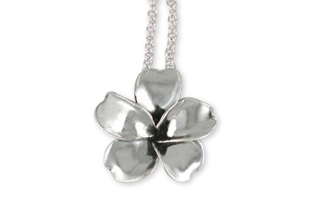 Plumeria Flower Pendant Sterling Silver Esquivel And Fees