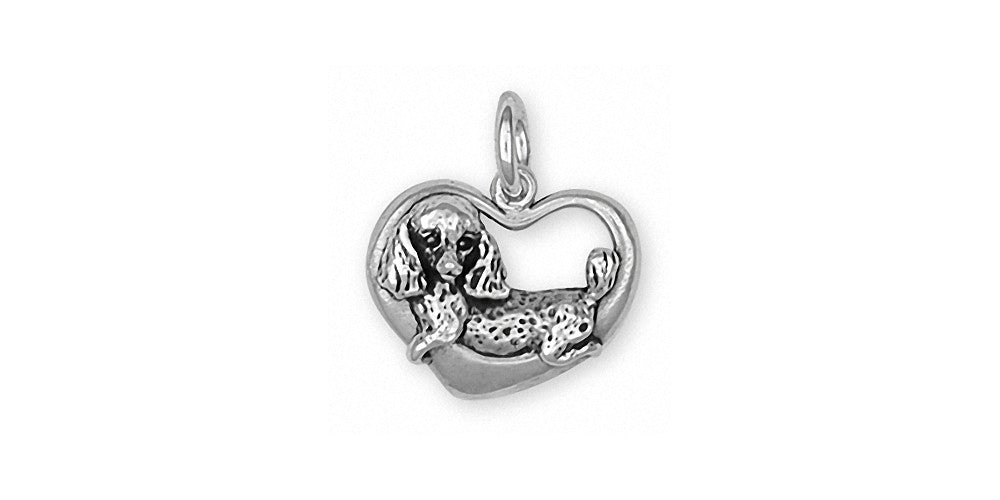 Poodle Charms Poodle Charm Sterling Silver Dog Jewelry Poodle jewelry