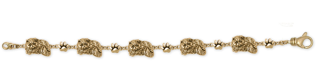 Persian Cat Charms Persian Cat Bracelet Gold Vermeil Persian Cat Jewelry Persian Cat jewelry