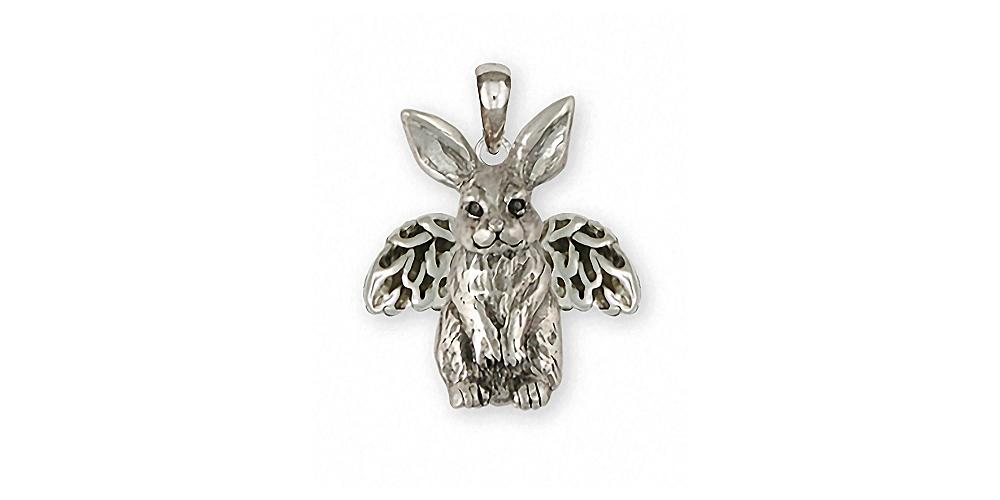Rabbit Charms Rabbit Pendant Sterling Silver Rabbit Jewelry Rabbit jewelry