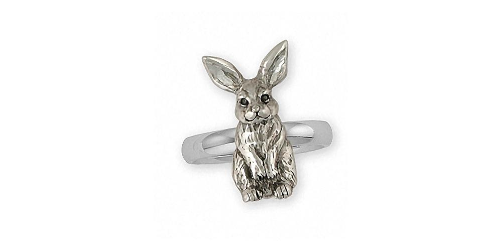 Rabbit Charms Rabbit Ring Sterling Silver Rabbit Jewelry Rabbit jewelry