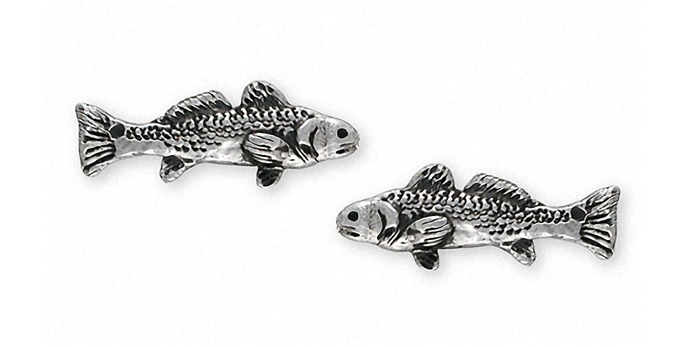 Redfish Redfish Cufflinks Sterling Silver Esquivel And Fees