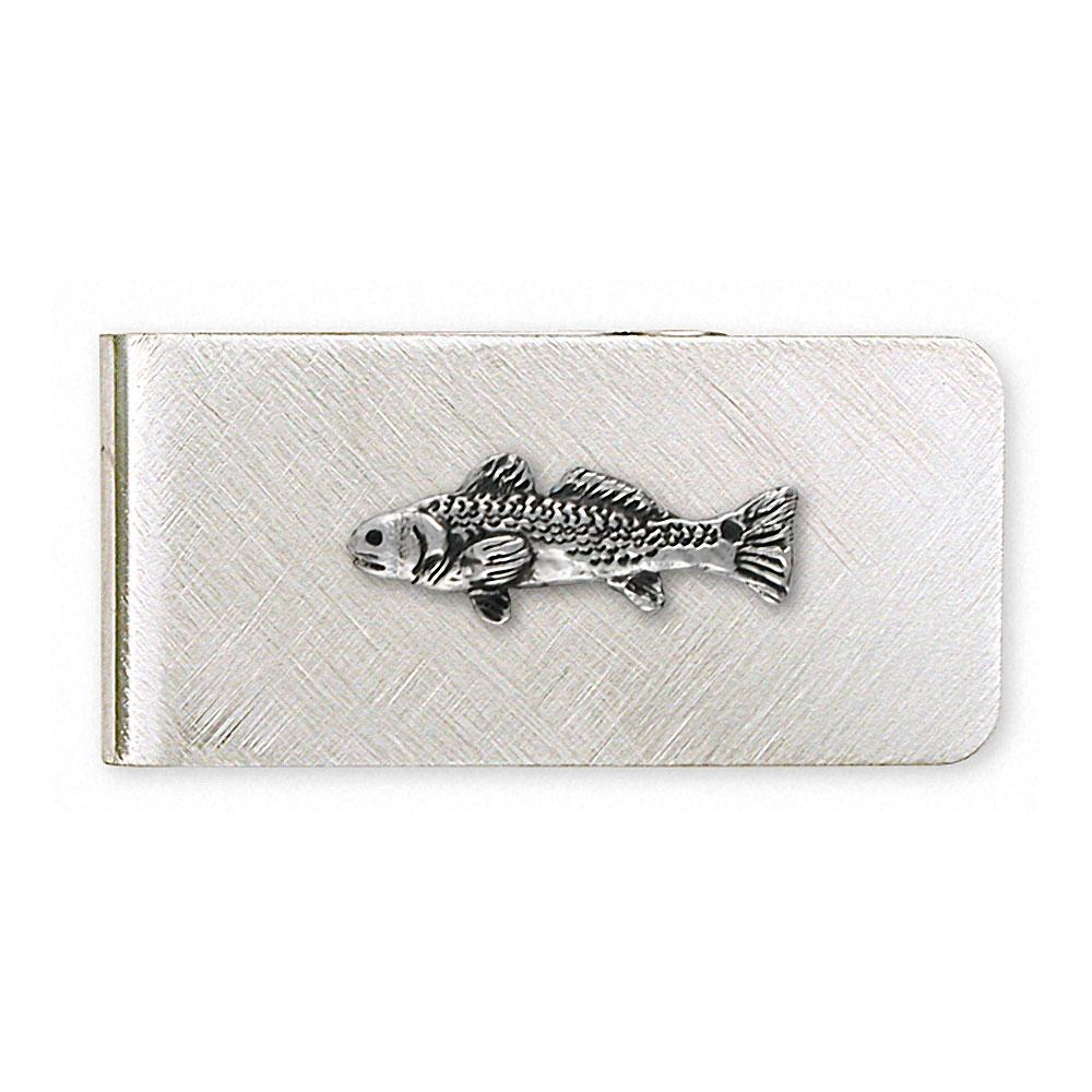 Redfish Charms Redfish Money Clip Sterling Silver Fish Jewelry Redfish jewelry