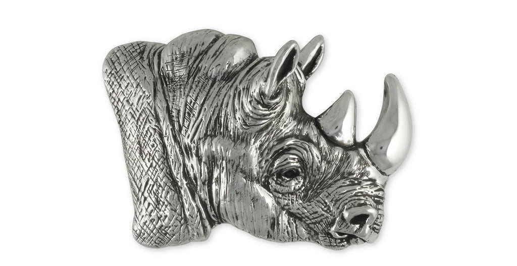 Rhinoceros Charms Rhinoceros Belt Buckle Sterling Silver Wildlife Jewelry Rhinoceros jewelry