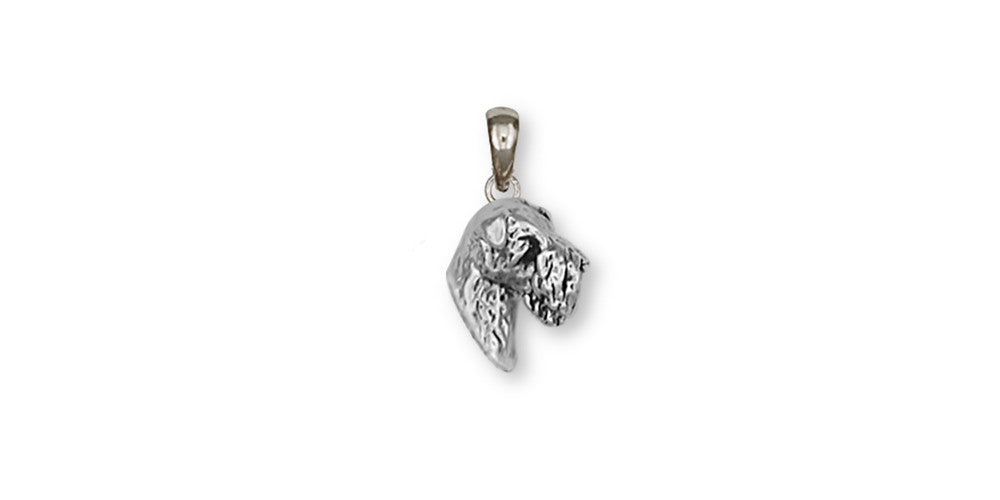 Soft Coated Wheaten Charms Soft Coated Wheaten Pendant Sterling Silver Dog Jewelry Soft Coated Wheaten jewelry