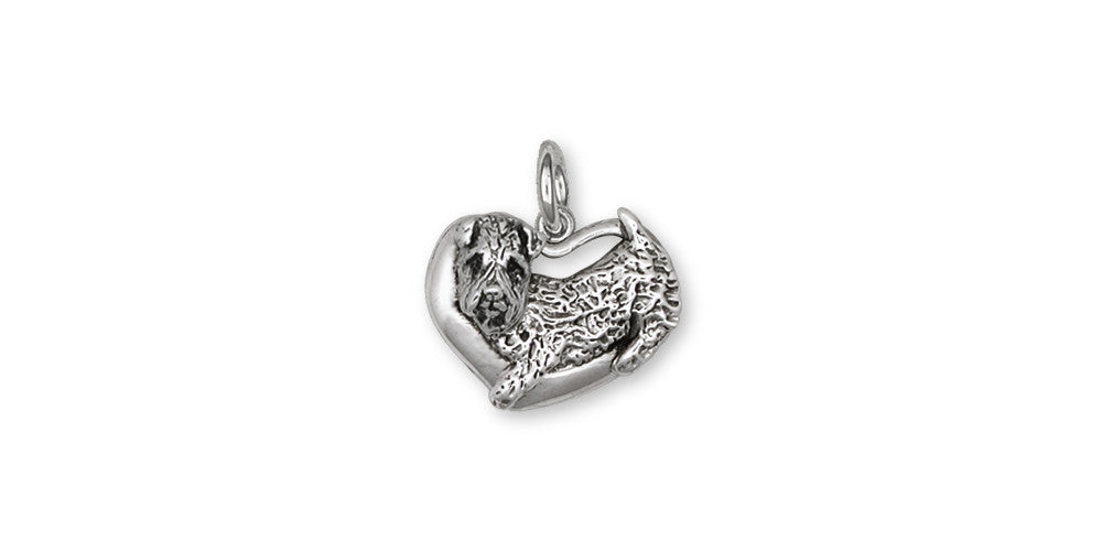 Soft Coated Wheaten Charms Soft Coated Wheaten Charm Sterling Silver Dog Jewelry Soft Coated Wheaten jewelry