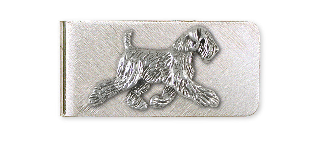 Soft Coated Wheaten Charms Soft Coated Wheaten Money Clip Sterling Silver Dog Jewelry Soft Coated Wheaten jewelry