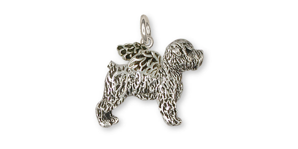 Soft Coated Wheaten Angel Charms Soft Coated Wheaten Angel Charm Sterling Silver Dog Jewelry Soft Coated Wheaten Angel jewelry