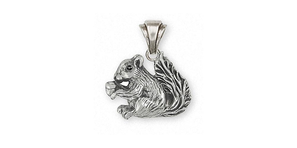 Squirrel squirrel pendant sterling silver esquivel and fees squirrel charms squirrel pendant sterling silver squirrel jewelry squirrel jewelry aloadofball Image collections