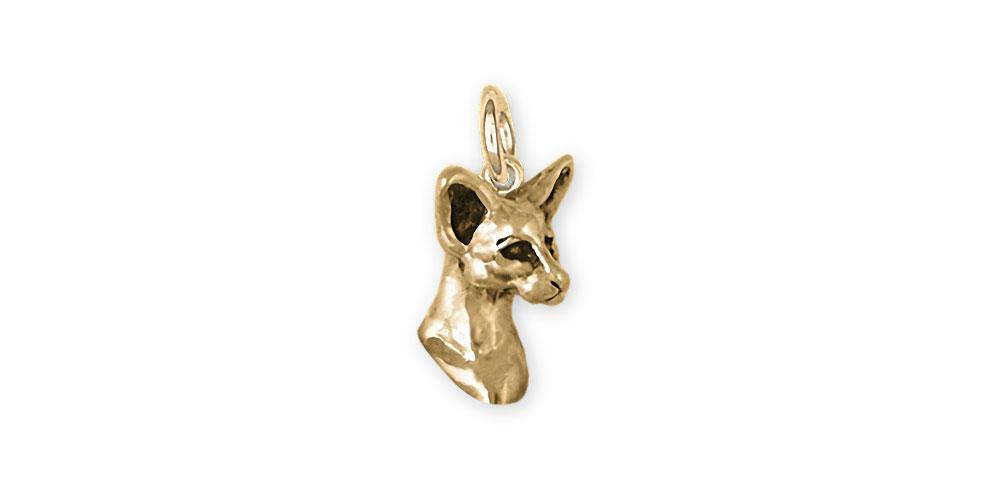 Siamese Cat Charms Siamese Cat Charm 14k Yellow Gold Siamese Jewelry Siamese Cat jewelry