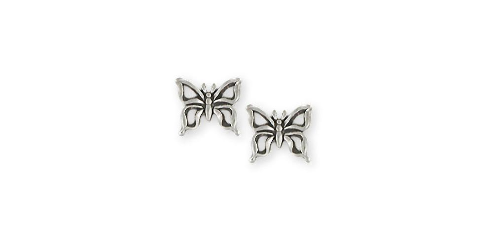 Butterfly Charms Butterfly Earrings Sterling Silver Butterfly Jewelry Butterfly jewelry
