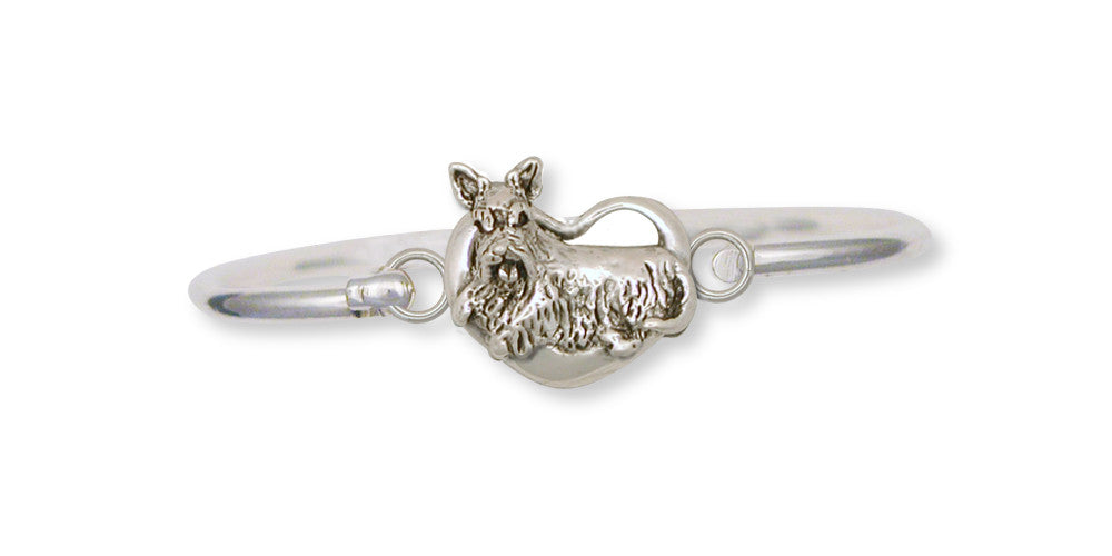 Scottie Scottish Terrier Charms Scottie Scottish Terrier Bracelet Handmade Sterling Silver Dog Jewelry Scottie Scottish Terrier jewelry