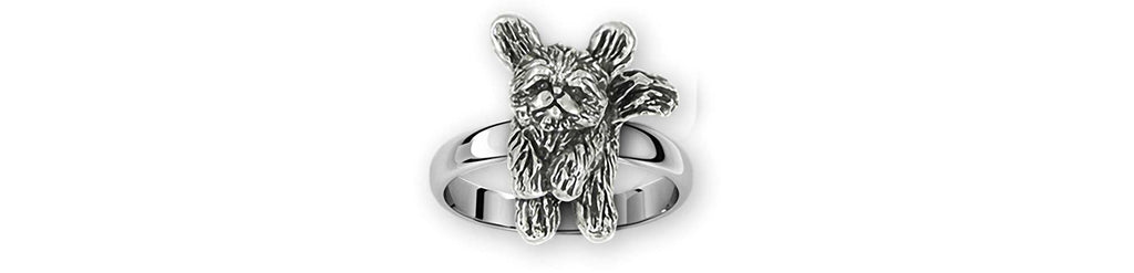 Playful Shih Tzu Charms Playful Shih Tzu Ring Sterling Silver Shih Tzu Jewelry Playful Shih Tzu jewelry