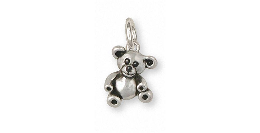 Teddy Bear Charms Teddy Bear Charm Sterling Silver Teddy Bear Jewelry Teddy Bear jewelry