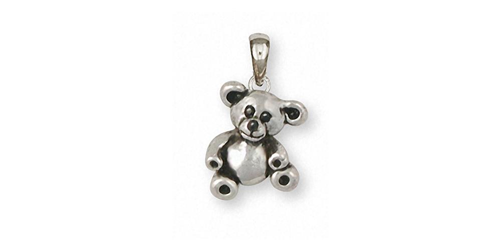 Teddy Bear Charms Teddy Bear Pendant Sterling Silver Teddy Bear Jewelry Teddy Bear jewelry