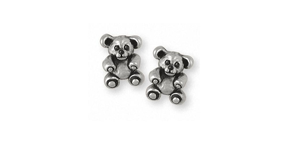 Teddy Bear Charms Teddy Bear Earrings Sterling Silver Teddy Bear Jewelry Teddy Bear jewelry