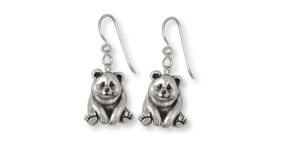 Panda Bear Charms Panda Bear Earrings Sterling Silver Panda Bear Jewelry Panda Bear jewelry