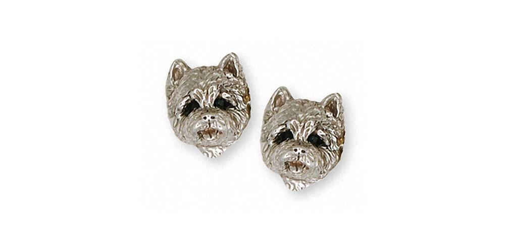 Westie Charms Westie Earrings Sterling Silver Dog Jewelry Westie jewelry