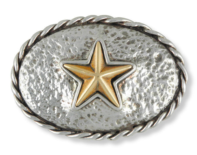 Bronze And Silver Star Charms Bronze And Silver Star Belt Buckle Handmade Sterling Silver Mens Jewelry Bronze And Silver Star jewelry