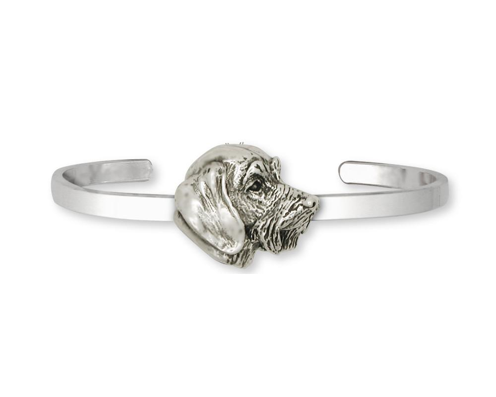 Wire Hair Dachshund Charms Wire Hair Dachshund Bracelet Sterling Silver Dog Jewelry Wire Hair Dachshund jewelry