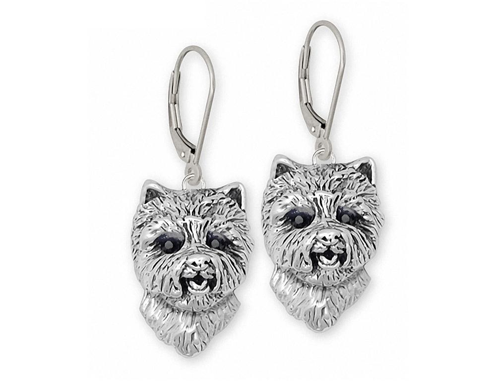 Westie Charms Westie Earrings Sterling Silver West Highland White Terrier Jewelry Westie jewelry
