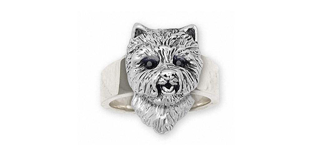 Westie Charms Westie Ring Sterling Silver West Highland White Terrier Jewelry Westie jewelry
