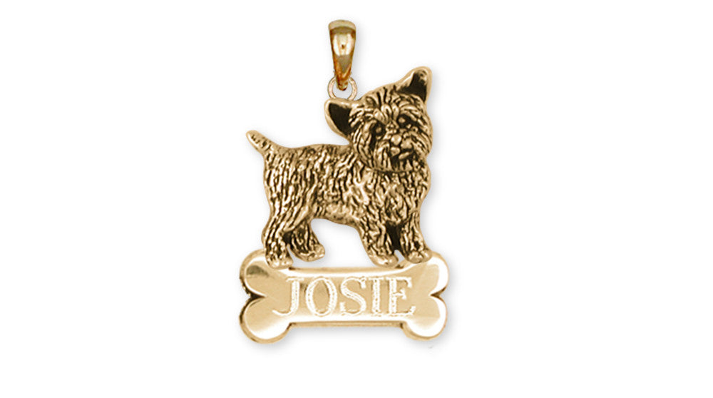Yorkshire Terrier Yorkie Charms Yorkshire Terrier Yorkie Personalized Pendant 14k Yellow Gold Vermeil Dog Jewelry Yorkshire Terrier Yorkie jewelry
