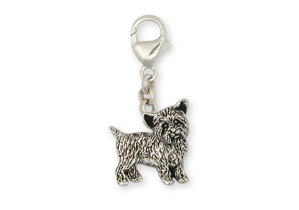 Yorkie Yorkshire Terrier Charms Yorkie Yorkshire Terrier Zipper Pull Sterling Silver Dog Jewelry Yorkie Yorkshire Terrier jewelry