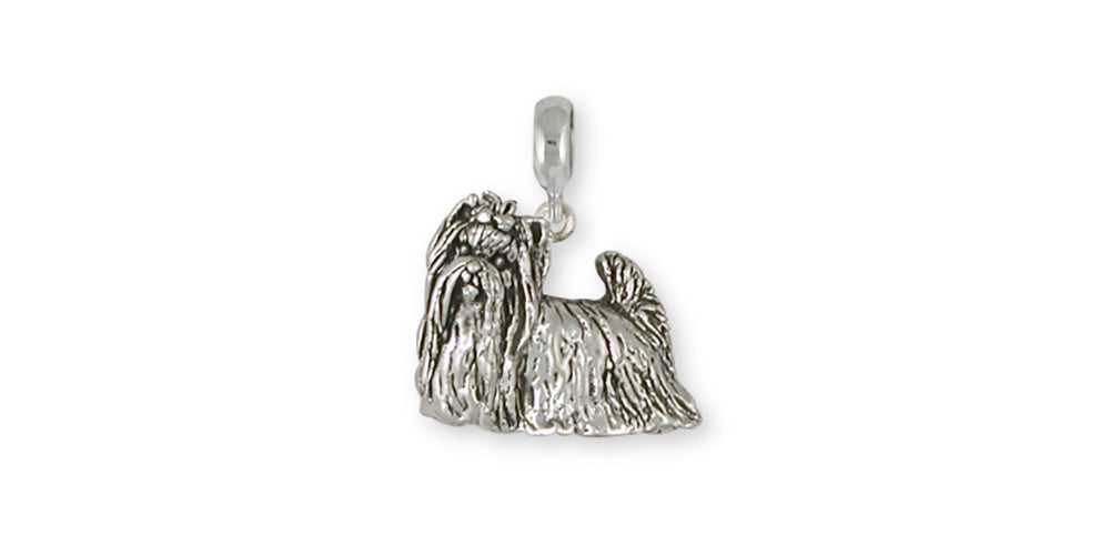 Yorkie Yorkshire Terrier Charms Yorkie Yorkshire Terrier Charm Slide Sterling Silver Dog Jewelry Yorkie Yorkshire Terrier jewelry
