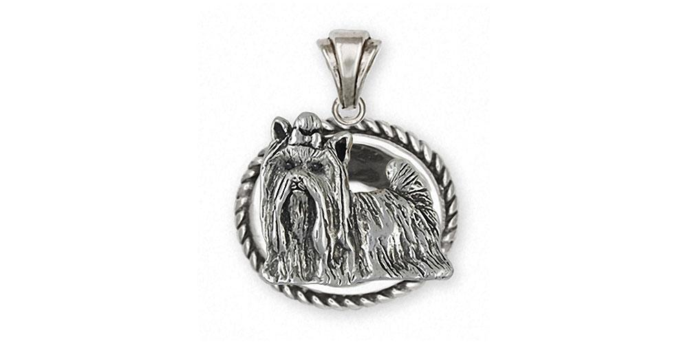 Yorkie yorkshire terrier pendant sterling silver esquivel and fees yorkie charms yorkie pendant sterling silver yorkshire terrier jewelry yorkie jewelry aloadofball Gallery