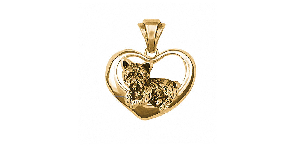 Yorkshire Terrier Yorkie Charms Yorkshire Terrier Yorkie Pendant 14k Gold Dog Jewelry Yorkshire Terrier Yorkie jewelry