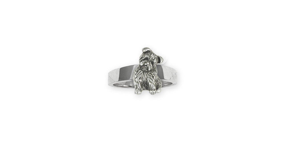 Yorkie Puppy Charms Yorkie Puppy Ring Sterling Silver Dog Jewelry Yorkie Puppy jewelry