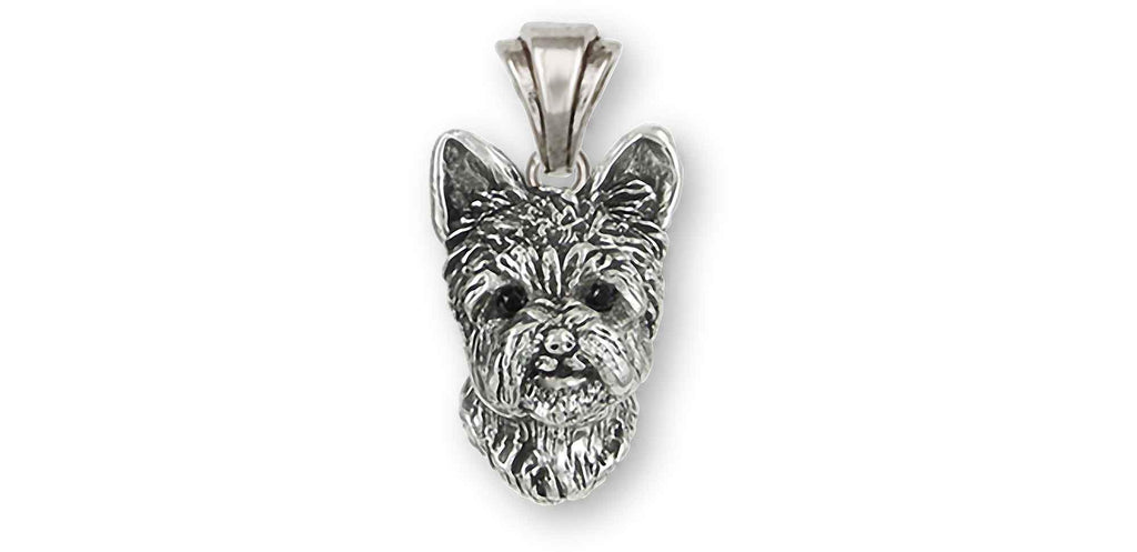 Yorkshire Terrier Charms Yorkshire Terrier Pendant Sterling Silver Yorkie Jewelry Yorkshire Terrier jewelry