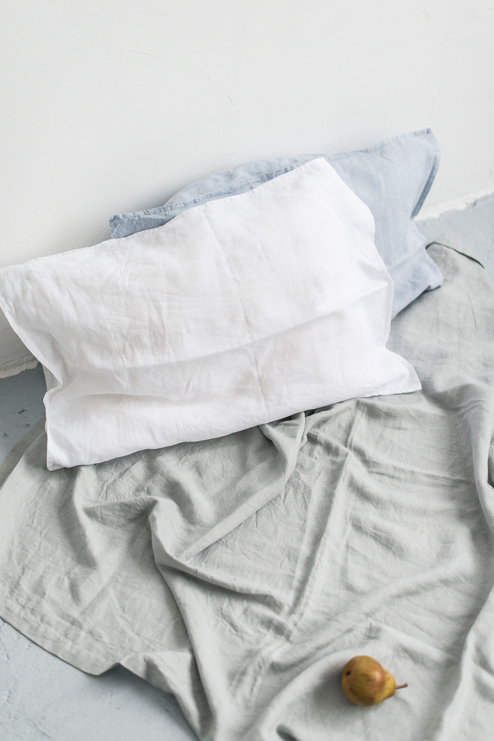 DUSTY BLUE PILLOW CASES