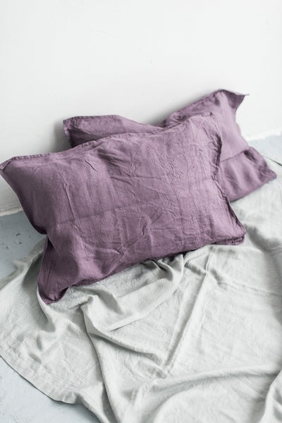 DUSTY LAVENDER PILLOW CASES