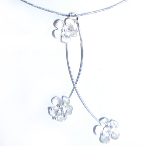X01-01 Silver Pendant and Snake Chain