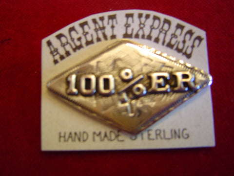 "Pin: ""100%er"" Christian Motorcycle"