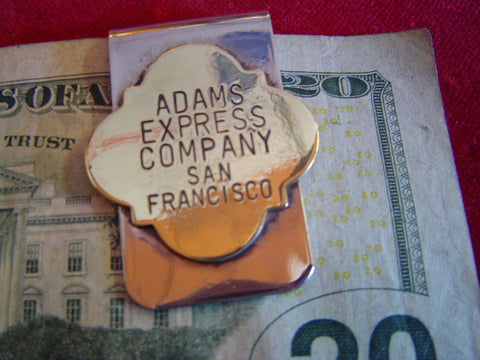 Money Clip: Adams Express